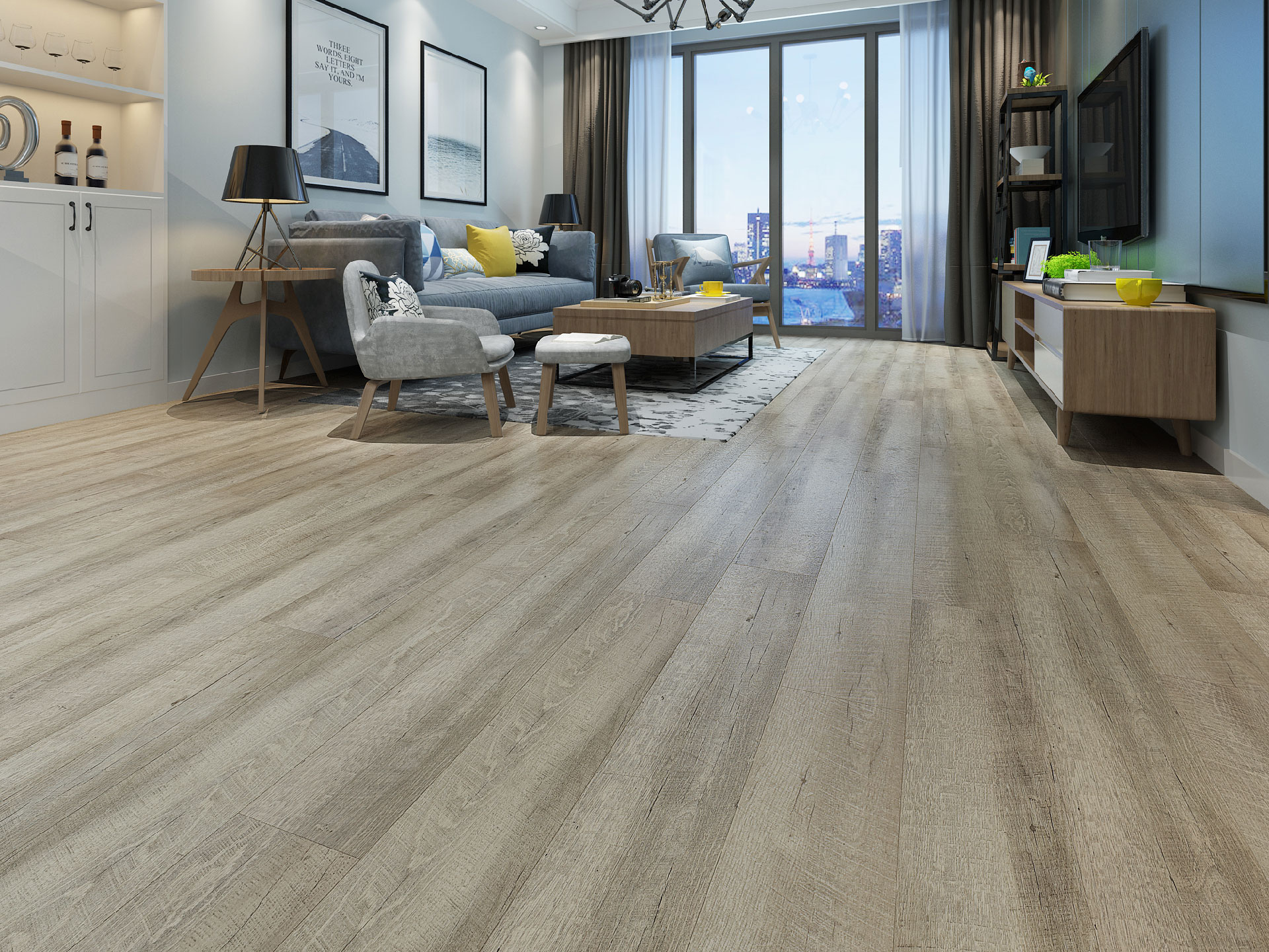 Silver Shell Parkay Floors